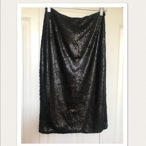 Pencil sequin skirt- NWT super cute